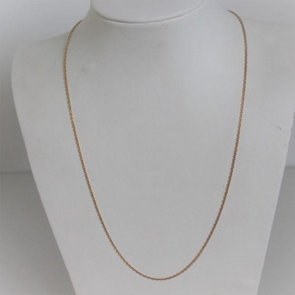 Chaine Maille  Forçat Or 18k 750 - 50cm - 3.5grs