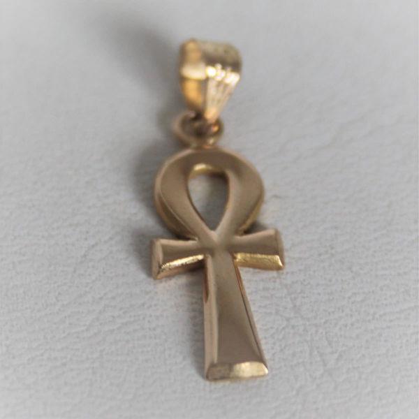 Pendentif Croix De Vie Or 750 - 18k - 1.9grs