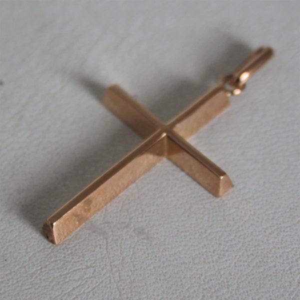 Pendentif Religieux Croix  Or 750 - 18k - 1.5grs
